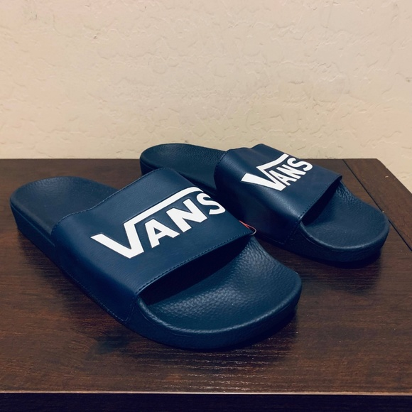 600fe0cd8357 VANS SLIDE-ON Slides Mens Sandals DRESS BLUES